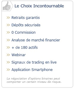 Avantages d'OptionWeb