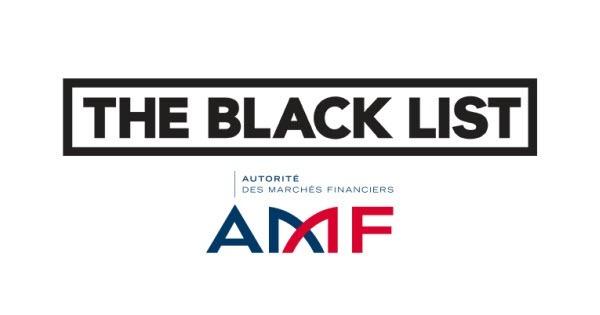 liste noire amf