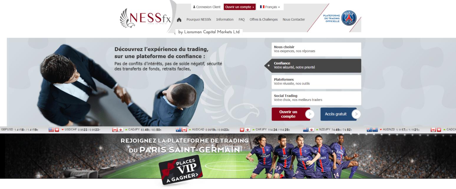 nessfx homepage