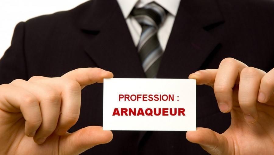 broker arnaque